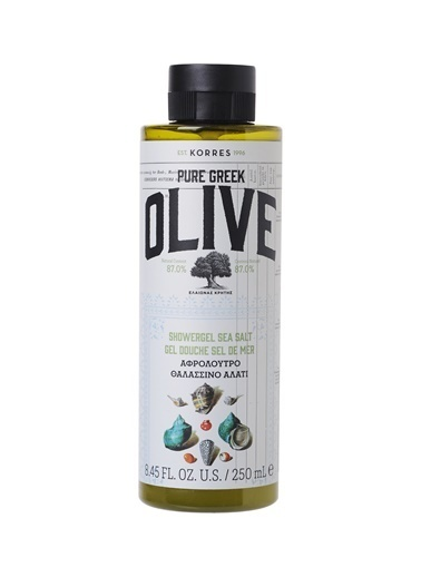 Korres Korres Olive & Sea Salt 250 ml Duş Jeli Renksiz